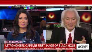 Michio Kaku - First Black Hole Pictures