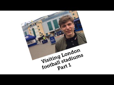 Visiting London Football Stadiums Part 1