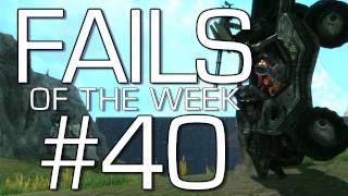 Fails of the Weak: Ep. 40 - Funny Halo 4 Bloopers and Screw Ups! | Rooster Teeth