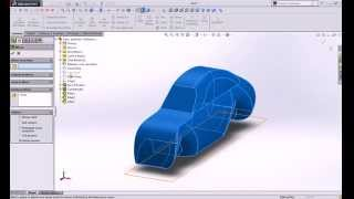 Modelling a simple Car in SolidWorks For beginners