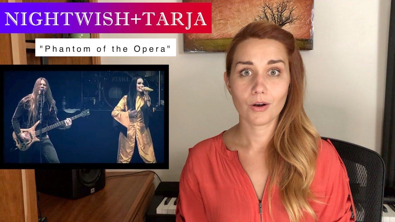 "Vocal Coach/Opera Singer FIRST TIME REACTION & ANALYSIS ""Phantom of the Opera"" TARJA with Nightwish"
