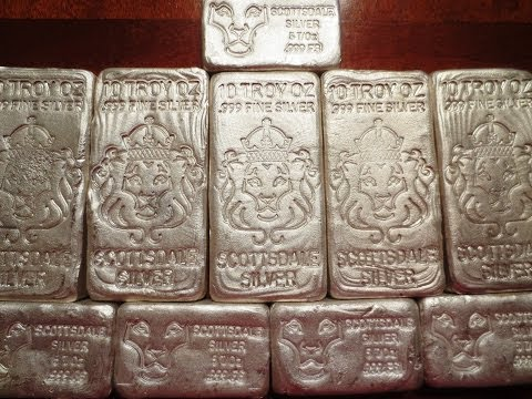Large Scottsdale Silver Order For 10 Oz And 5 Oz Poured