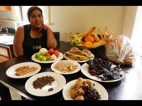 Rosalva Mendez from Oaxaca Making Mole Negro