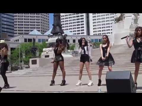 Fifth Harmony 5/10/14- Don't Want to Dance Alone HD