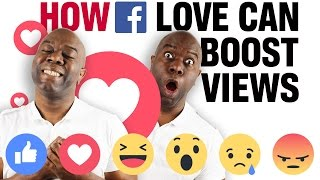 How Facebook Love Reaction Can Boost Your Views