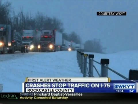 Raw: KY Highway Reopens After Hours of Shutdown