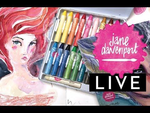 Pastel playtime with Jane Davenport