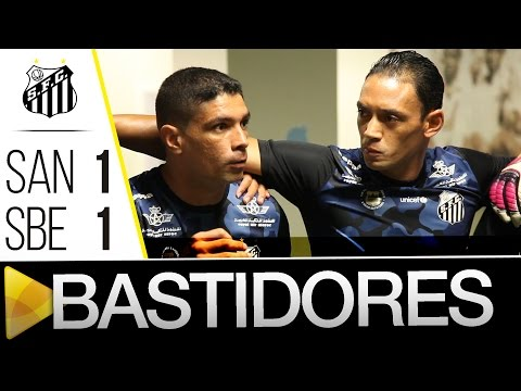 Santos 1 x 1 São Bernardo | BASTIDORES | Paulistão (30/01/16)