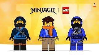Drawing Lego Ninjago Jay | Ninjago Season 9 | The Lego Ninjago Movie