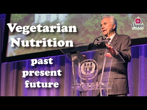 Vegetarian Nutrition: past, present, future - Prof. Claus Leitzmann