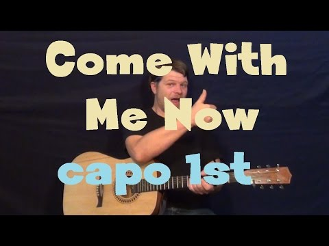 Come With Me Now (KONGOS) Easy Strum Guitar Lesson How to Play Tutorial