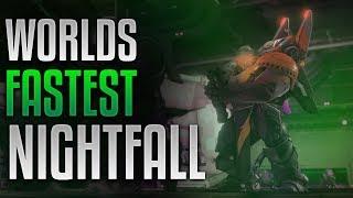 Destiny 2 - WORLDS FASTEST NIGHTFALL [4:46][Arms Dealer Strike][60 FPS]
