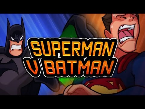 SUPERMAN V BATMAN  ( ANIMACIÓN )