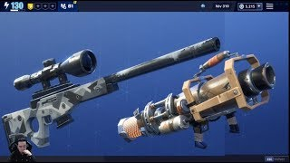 BASURE CANNON Guide & CONGELATION Save the Fortnite World + Pin Storm King