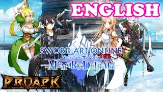 SWORD ART ONLINE Memory Defrag ENGLISH Gameplay Android / iOS