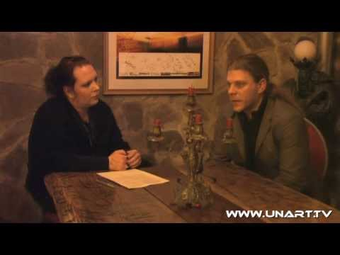 UnArt Live TV - Interview Adrian Hates 'Diary of Dreams', Pulp Duisburg 2011