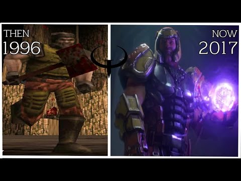 History/Evolution Of Graphics: QUAKE (1996 - 2017)