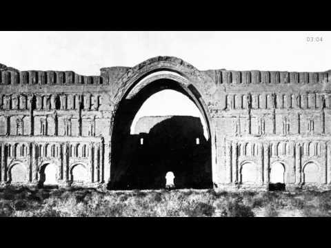 Der große Iwan von Ktesiphon   Museum für Islamische Kunst