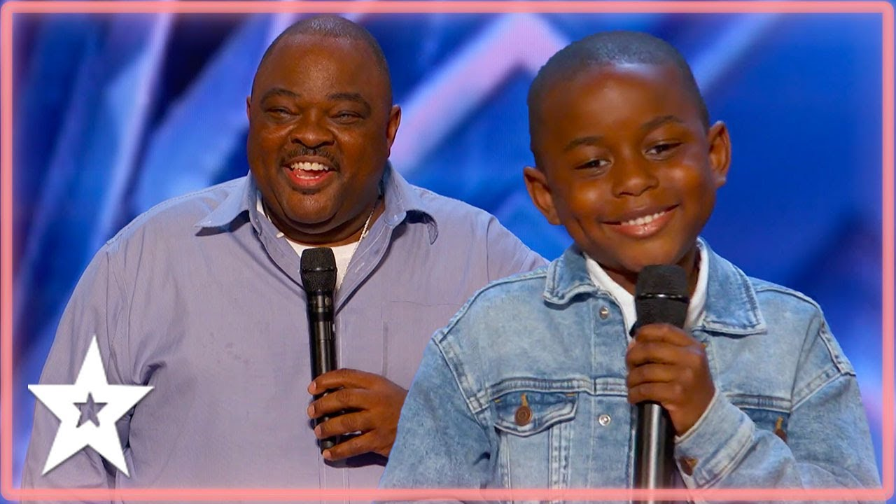Comedian Father & Son Compete Against Each Other on America's Got Talent 2021   Kids Got Talent
