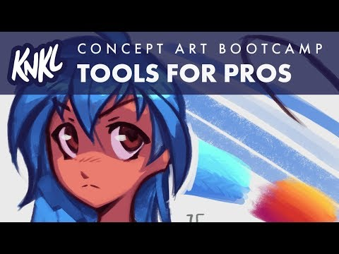 Concept Art Boot Camp 02! (Tools for going pro) KNKL345