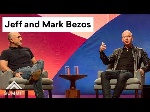Amazon CEO Jeff Bezos and brother Mark give a rare interview about growing up and secrets to success