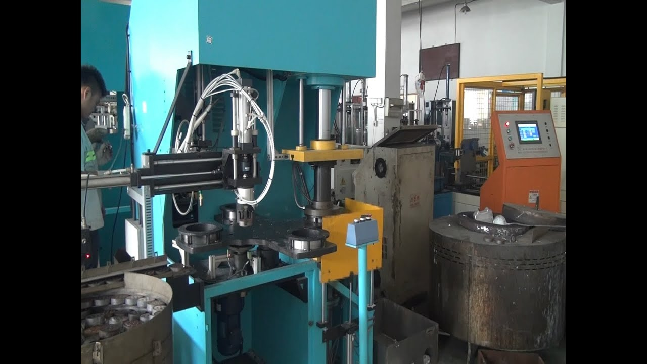 Rotor Die Casting Process_Rotor Die Casting Machines Manufacturers