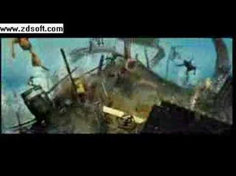 Pirates of the Caribbean The Kraken Battle