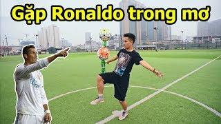 Phim Bóng Đá : Gặp Cầu Thủ Cristiano Ronaldo Trong Mơ - Người Hùng Sân Cỏ