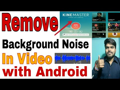 How to Remove Background Noise in android - Audacity for Android, With Kinemaster
