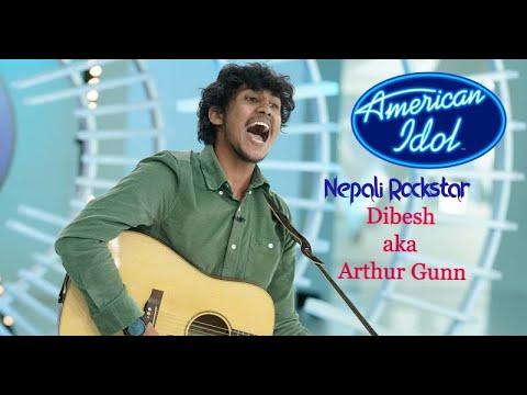 American Idol Season 18: Dibesh Pokharel Aka Arthur Gunn, Nepali Rockstar 🔥wins Everyone's Heart❤️