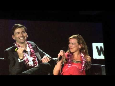 David Tennant And Billie Piper Panel Clip From St. Louis Wizard World Comic Con 2016 Video 1