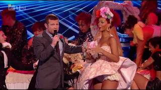 Rihanna - Only Girl (In The World) @ X Factor 2010 - Live Results Show 4 - HD