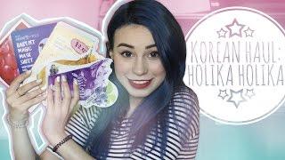 KOREAN HAUL: Holika Holika c: Посылка корейской косметики