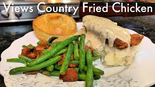 What to make for dinner | Country Fried Chicken Dinner | Family Dinner Recipe