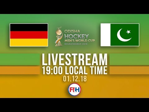 Germany v Pakistan | 2018 Men's Hockey World Cup | FULL MATCH LIVESTREAM
