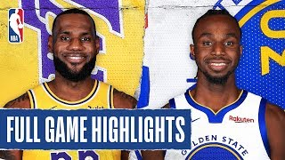 LAKERS at WARRIORS | FULL GAME HIGHLIGHTS | February 8, 2020