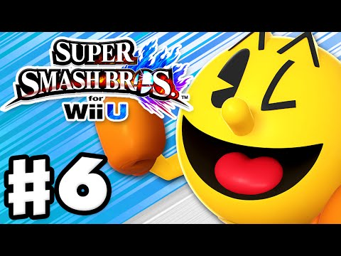 Super Smash Bros. Wii U - Gameplay Walkthrough Part 6 - Pac-Man! (Nintendo Wii U Gameplay)