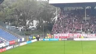 Halbzeit-Randale SV Waldhof Mannheim 07 gegen Kickers Offenbach 25.08.2013