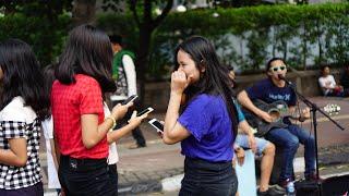 Lagu Daerah | Paleng Bae Cover Di Cfd Sudirman Jakarta Saweerrr Lagii