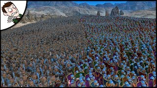 Massive 30000 Rome v Parthia Siege Battle - Ultimate Epic Battle Simulator 1.1 Gameplay