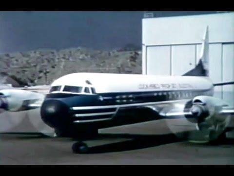 Lockheed L-188A Electra Promo Film #1 - 1958