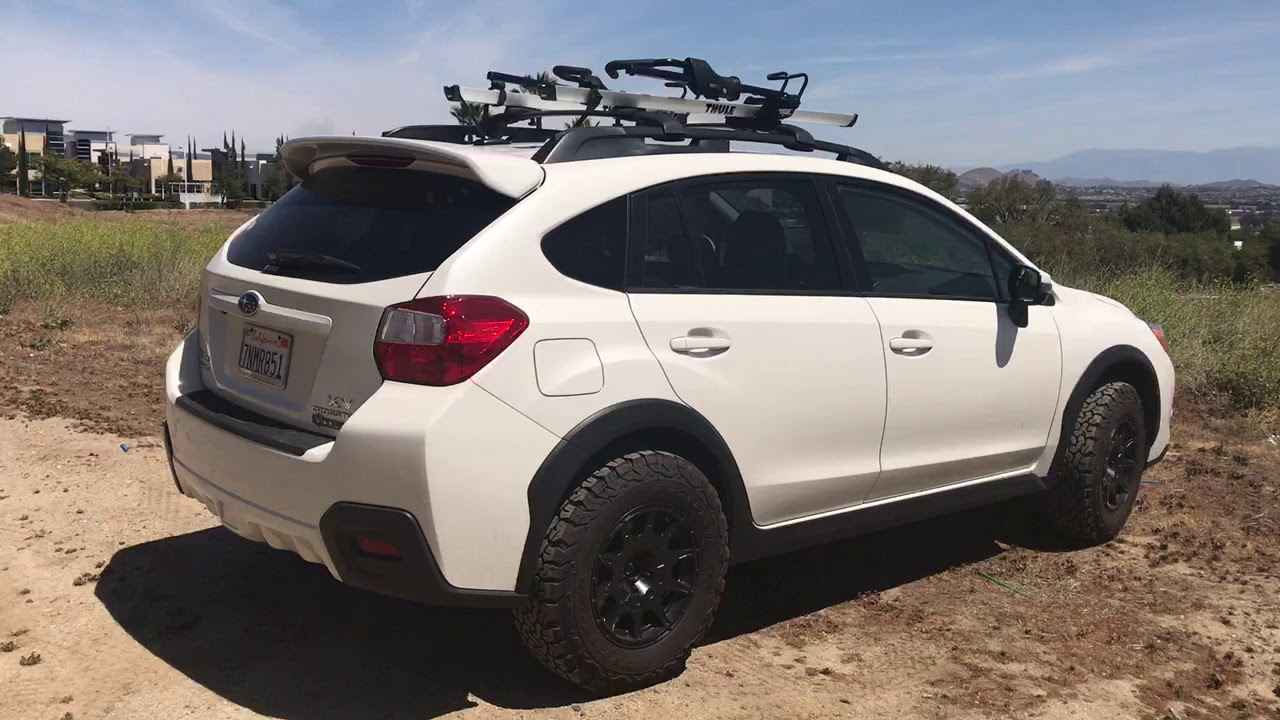 Subaru Crosstrek 2015 With Method Wheels