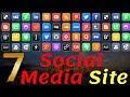 Top 7 Biggest Social Media WebSites and Apps(2018-2019) | Urdu & Hindi