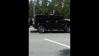 My H2 hummer ! Rest area florida