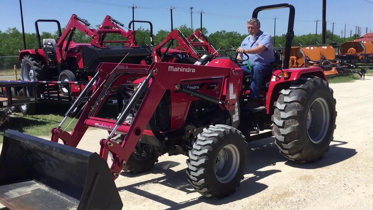 EM4266 - 2017 Mahindra 4540 MFWD Tractor - 5-30-2018 BigIron Auction