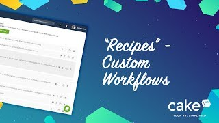 Notify specific employee or automatically create a task after certain actions - this all can be automated via recipes is feature that allows ...
