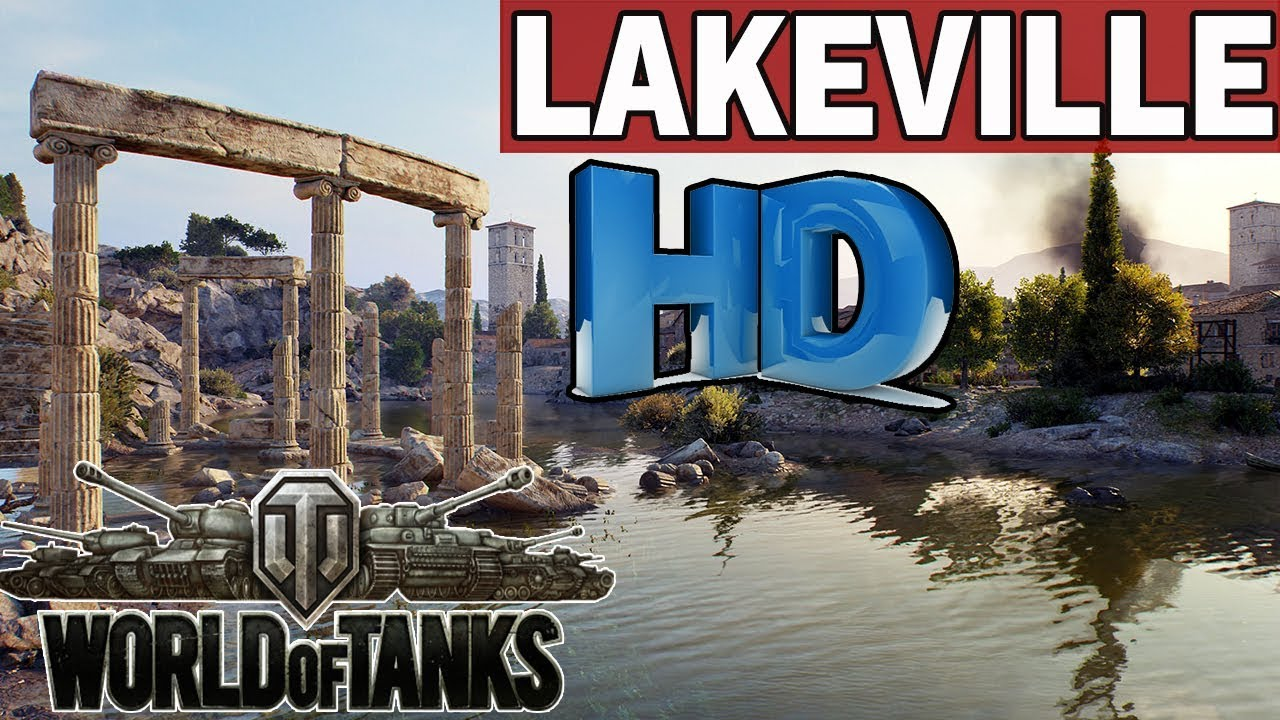 LAKEVILLE – MAPY  HD – World of Tanks