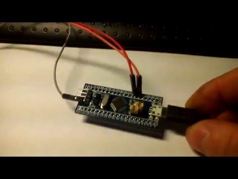 STM32 Arduino подключаем STM32F103C8 к Ардуино IDE