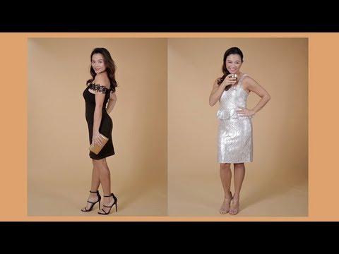 2 Party Dresses, 8 Looks
