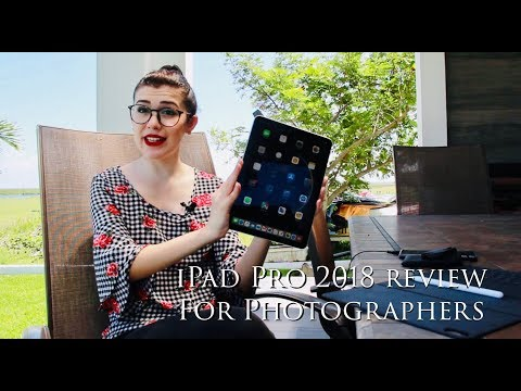 iPad Pro 2018 Review - For Photographers